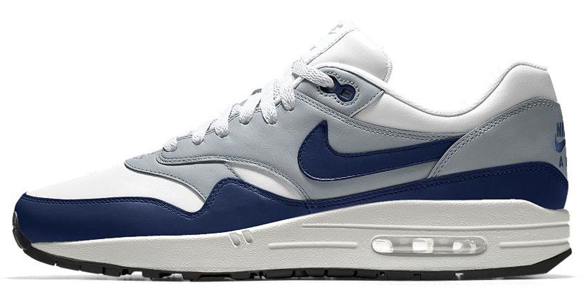 Nike White Air Max 1 Essential Id Men's Shoe for Men Lyst