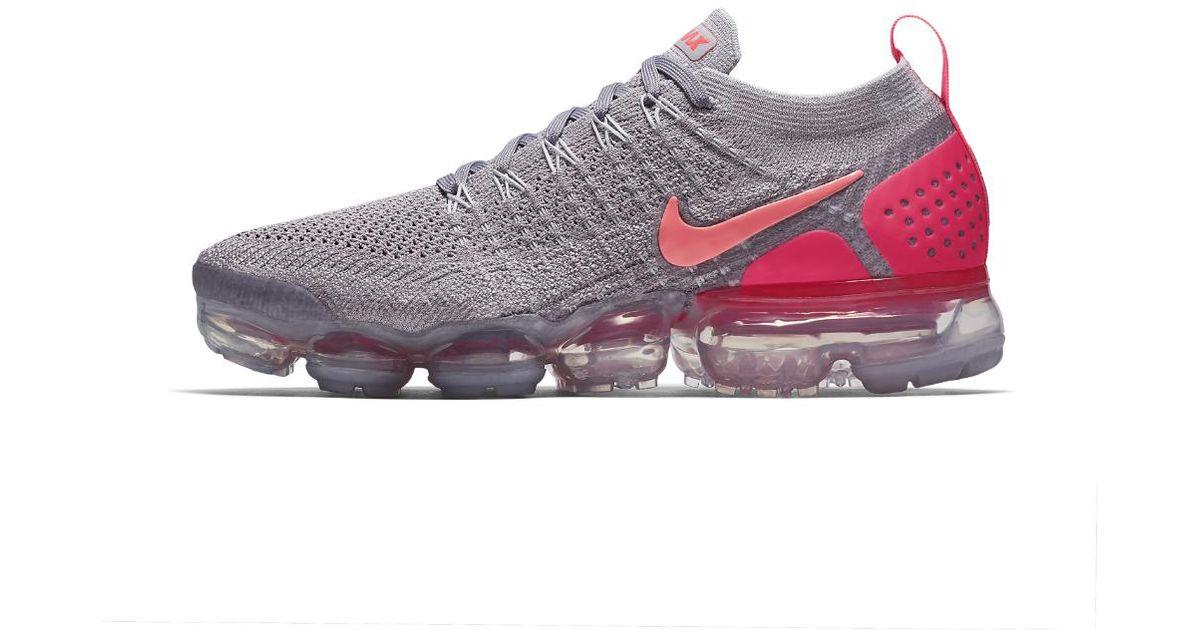 new arrival 183e9 f2678 Nike Air Vapormax Flyknit 2 Women s Running Shoe in Gray - Lyst
