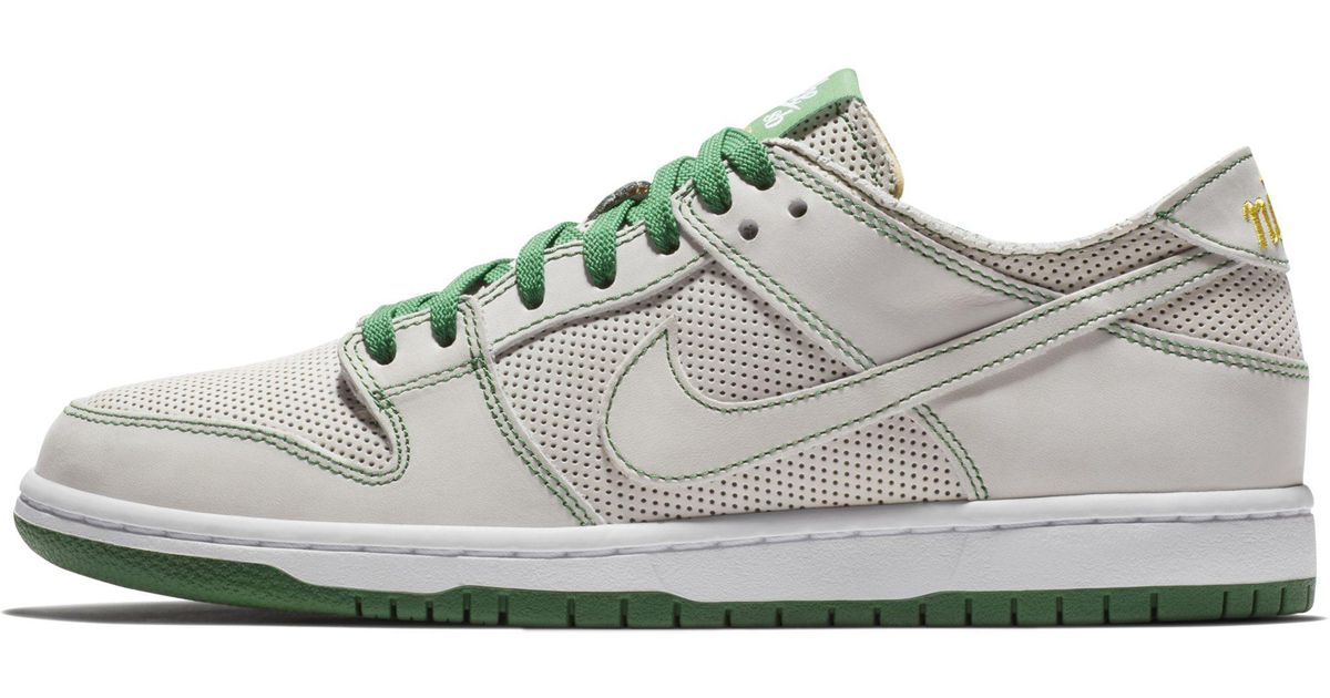 on sale e3dc4 dcd9a Nike Sb Zoom Dunk Low Pro Deconstructed Qs X Ishod Wair Skateboarding Shoe  in White for Men - Lyst
