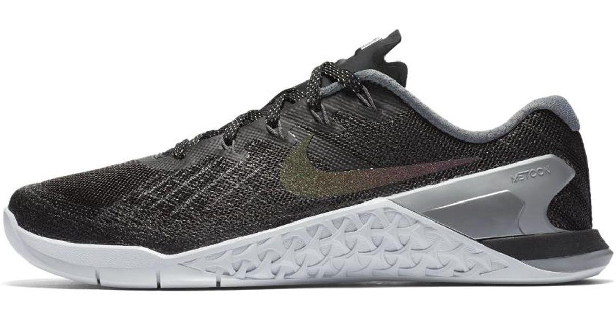 d5ffdd17e1e8 Lyst - Nike Metcon 3 Metallic Women s Training Shoe in Metallic