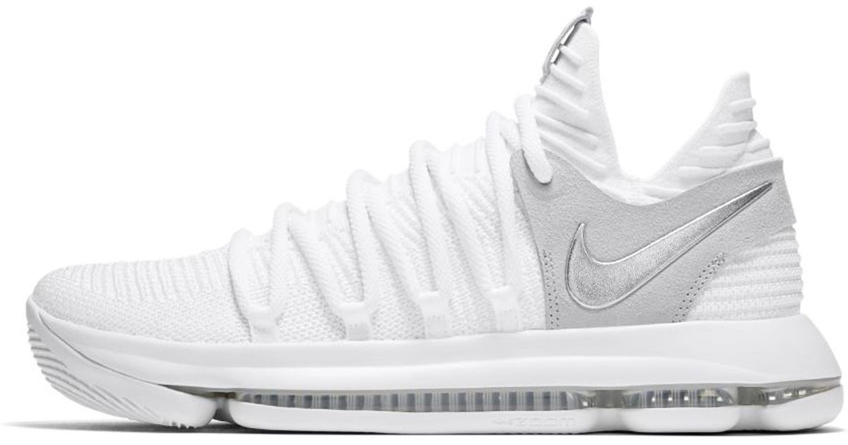 new concept 98d62 ad3fd Lyst - Nike Zoom Kdx Men s Basketball Shoe in White for Men