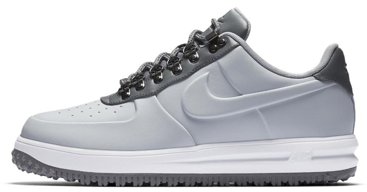 official photos 59d7a 00156 Nike Lunar Force 1 Duckboot Low Men s Shoe in Gray for Men - Lyst
