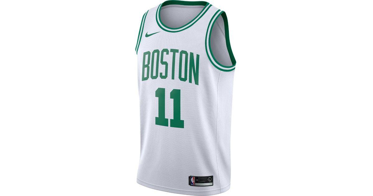 Lyst - Nike Kyrie Irving Association Edition Swingman Jersey (boston Celtics)  Men s Nba Connected Jersey in White for Men ad9b189d4