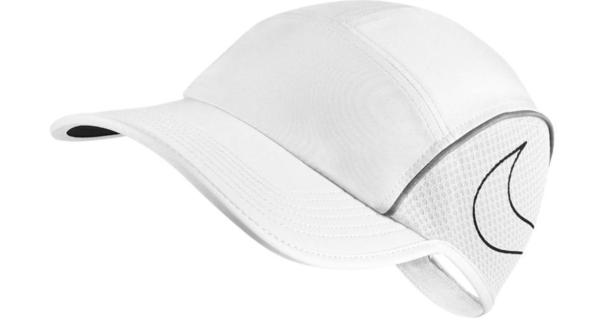 Lyst - Nike Aerobill Women s Running Hat (white) - Clearance Sale in White ce6e4accac9