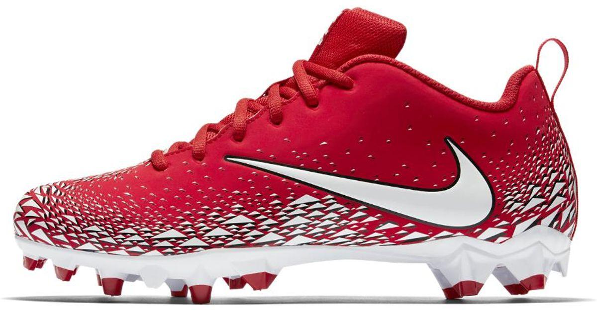 3887e3e13e21 Nike Vapor Varsity Low Td Men's Football Cleat in Red for Men - Lyst