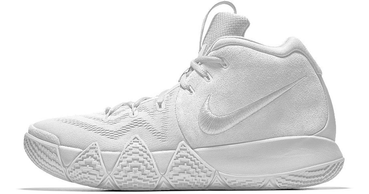 a0d906c53 Lyst Nike Kyrie 4 Id Men S Basketball Shoe In White For Men