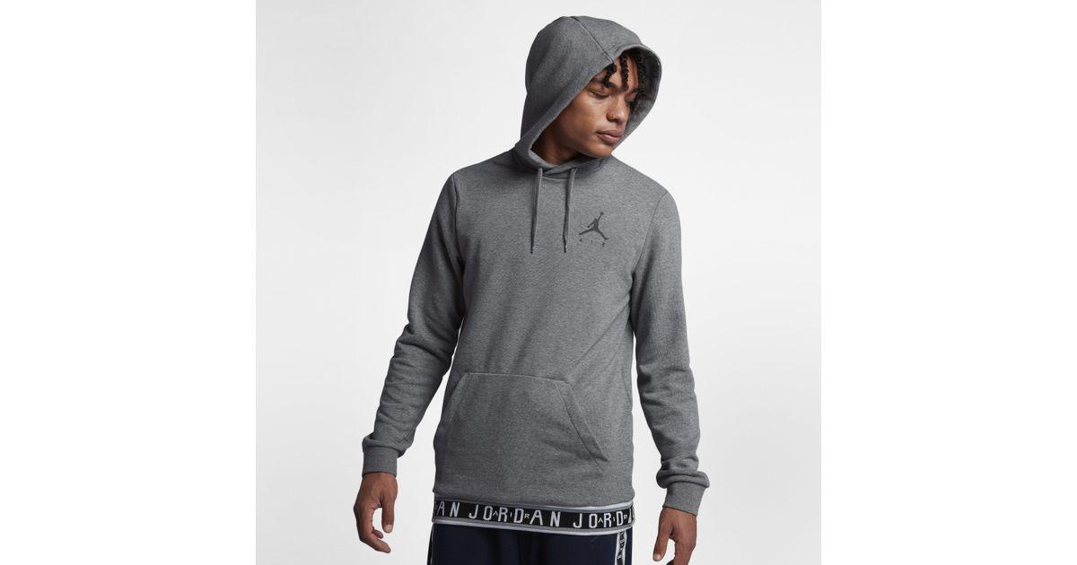 8c1142e9a24e51 Nike Jordan Jumpman Air Basketball Pullover Hoodie in Gray for Men - Lyst
