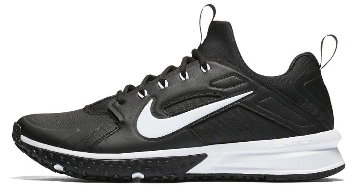 f62e406e4384f Lyst - Nike Alpha Huarache Turf Men s Baseball Shoe in Black for Men