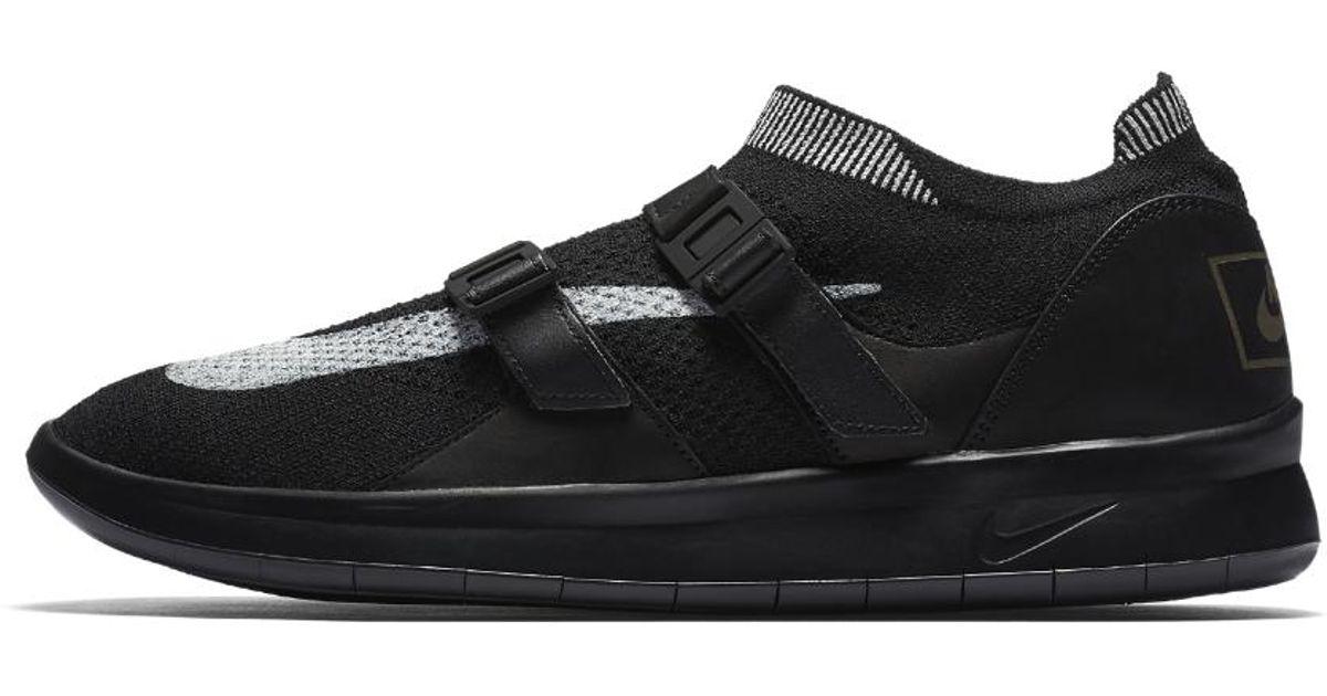 6e19f577f207 Lyst - Nike Air Sock Racer Ultra Flyknit Men s Shoe in Black for Men