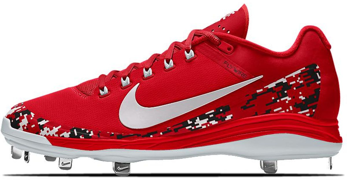 release date: e755c 91db7 Nike Alpha Air Clipper '17 Metal Id Men's Baseball Cleats in Red for Men -  Lyst