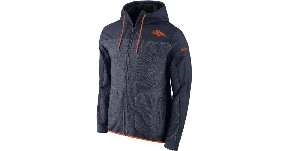 Lyst - Nike Av15 Winterized (nfl Broncos) Men s Jacket in Blue for Men a22b6e796