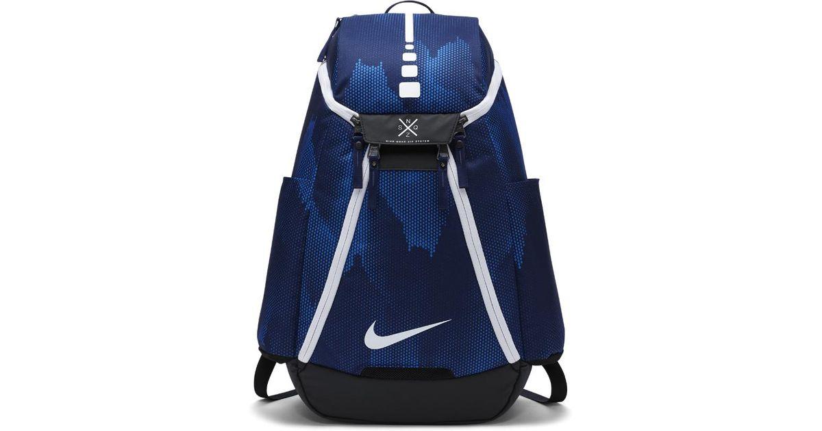 d3c4b5e03 ... nike hoops elite max air team 2 0 graphic basketball backpack blue for men  lyst ...