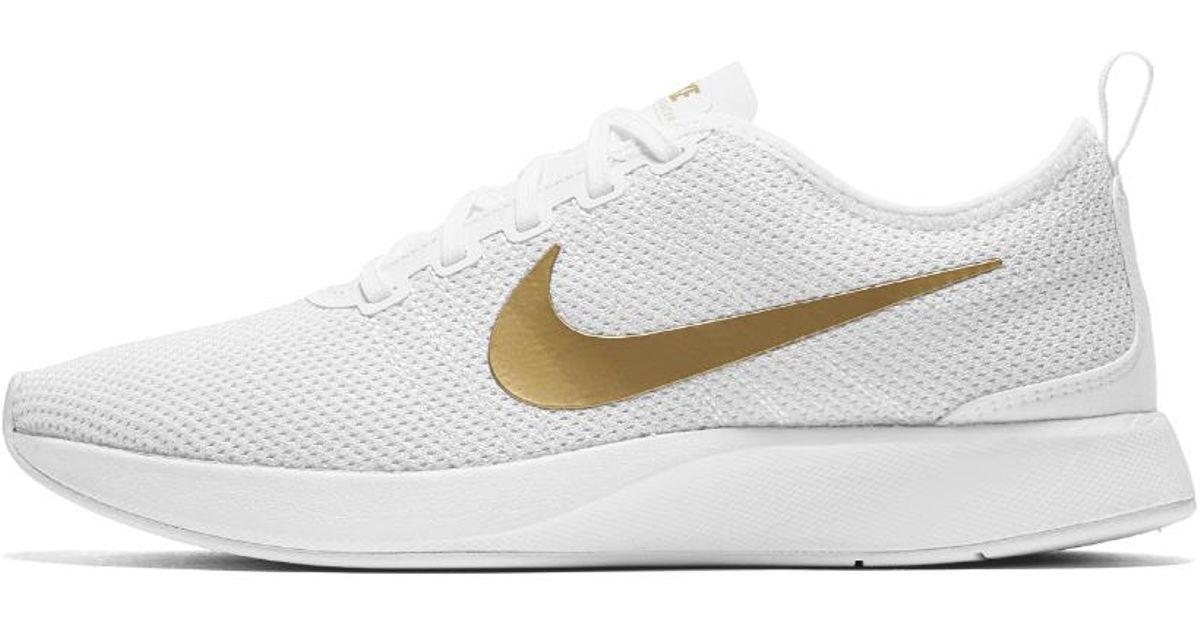 e29c2ffb7c7f Lyst - Nike Dualtone Racer Se Women s Shoe in Metallic