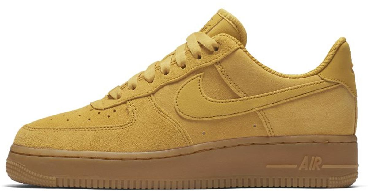 94dce16461ad0 Lyst - Nike Air Force 1  07 Se Women s Shoe in Brown