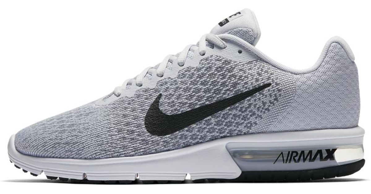 59a18aaa70 Nike Air Max Sequent 2 Men's Running Shoe in Gray for Men - Lyst