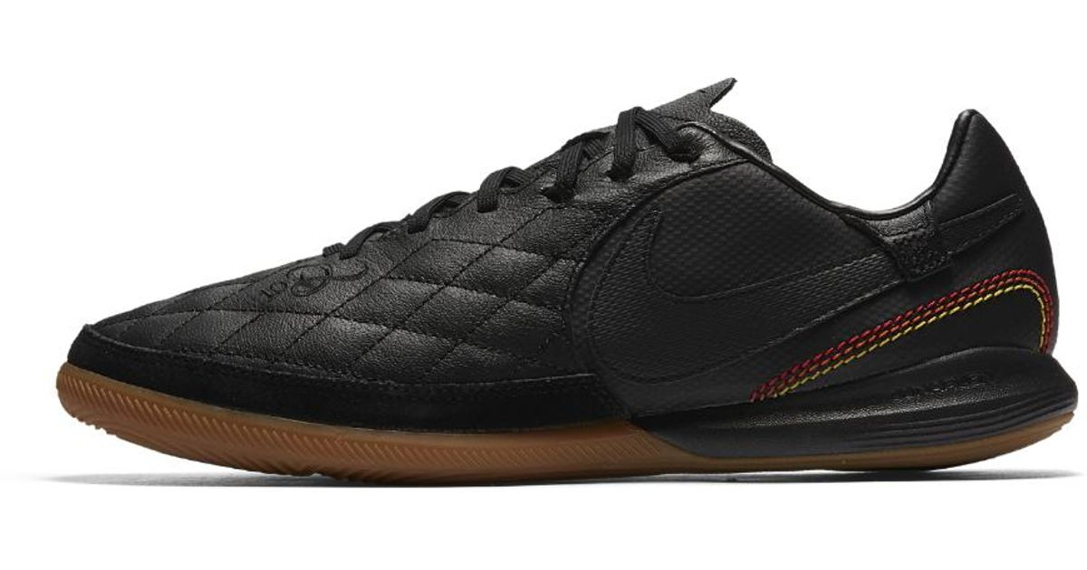 1e6fd8272 Nike Tiempox Finale 10r Ic Indoor court Soccer Shoe in Black for Men - Lyst