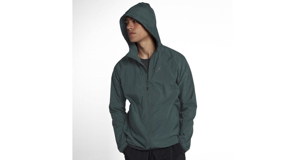 ac5430fd6da6 Nike Jordan Lifestyle Wings Windbreaker Jacket in Green for Men - Lyst