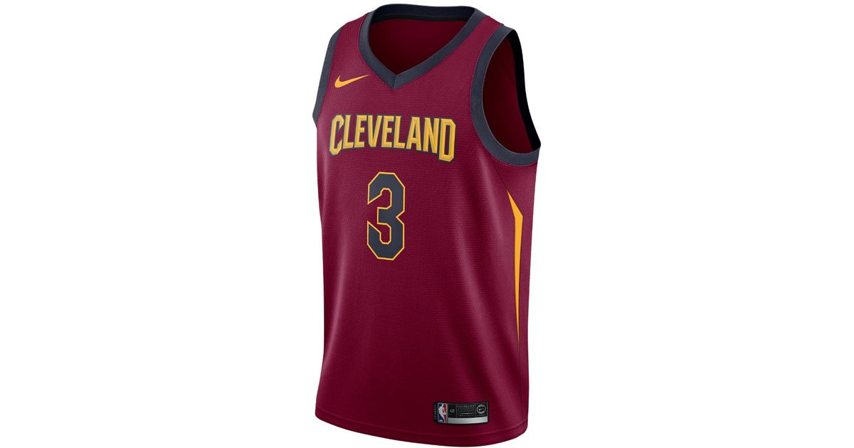 1fb2769f0f1 ... order lyst nike isaiah thomas icon edition swingman jersey cleveland  cavaliers mens nba connected jersey in