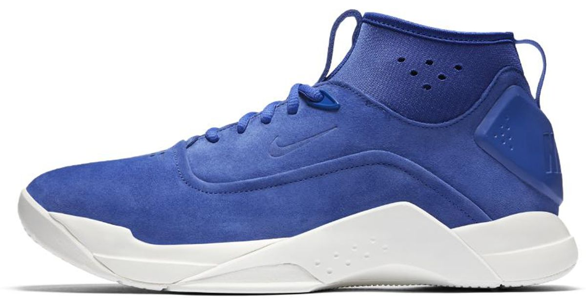 2e7a7737aaa9 Lyst - Nike Hyperdunk Low Lux Men s Shoe in Blue for Men