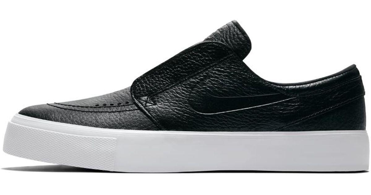 quality design 43749 eb6c7 Nike Sb Zoom Janoski Ht Slip-on Men s Skateboarding Shoe in Black for Men -  Lyst