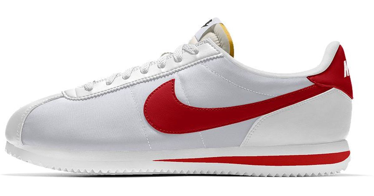 f1c4d5327e3 Lyst - Nike Cortez Basic Id Men s Shoe in White for Men