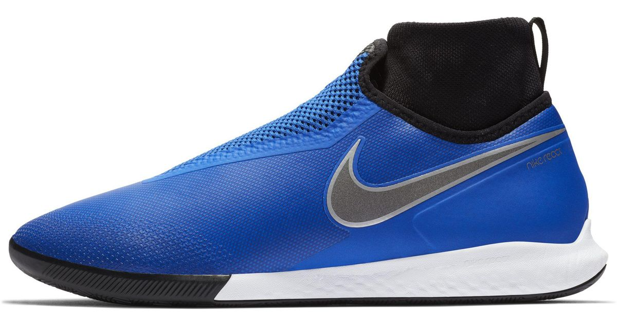 4647282a0cb1 Nike React Phantomvsn Pro Dynamic Fit Ic Indoor court Football Boot in Blue  - Lyst