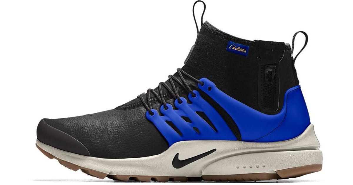 online store e2ee3 ea0d4 Lyst - Nike Air Presto Mid Utility Premium Id Mens Shoe in B