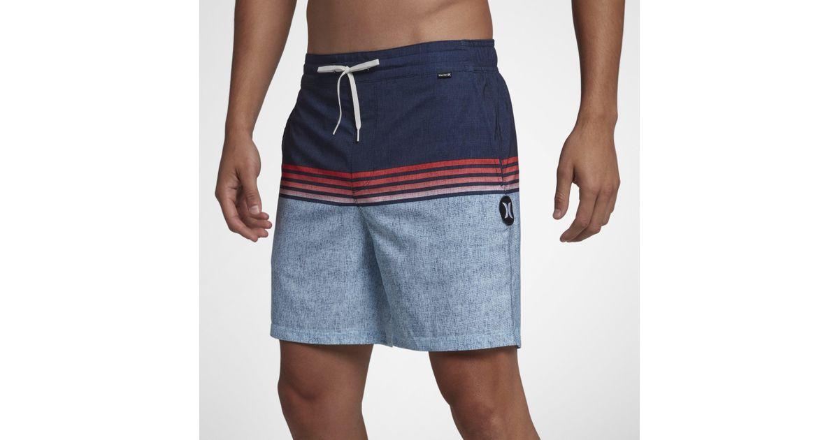 ea3914ad1d Nike Hurley Phantom Surfside Volley 43cm Boardshorts in Blue for Men - Lyst