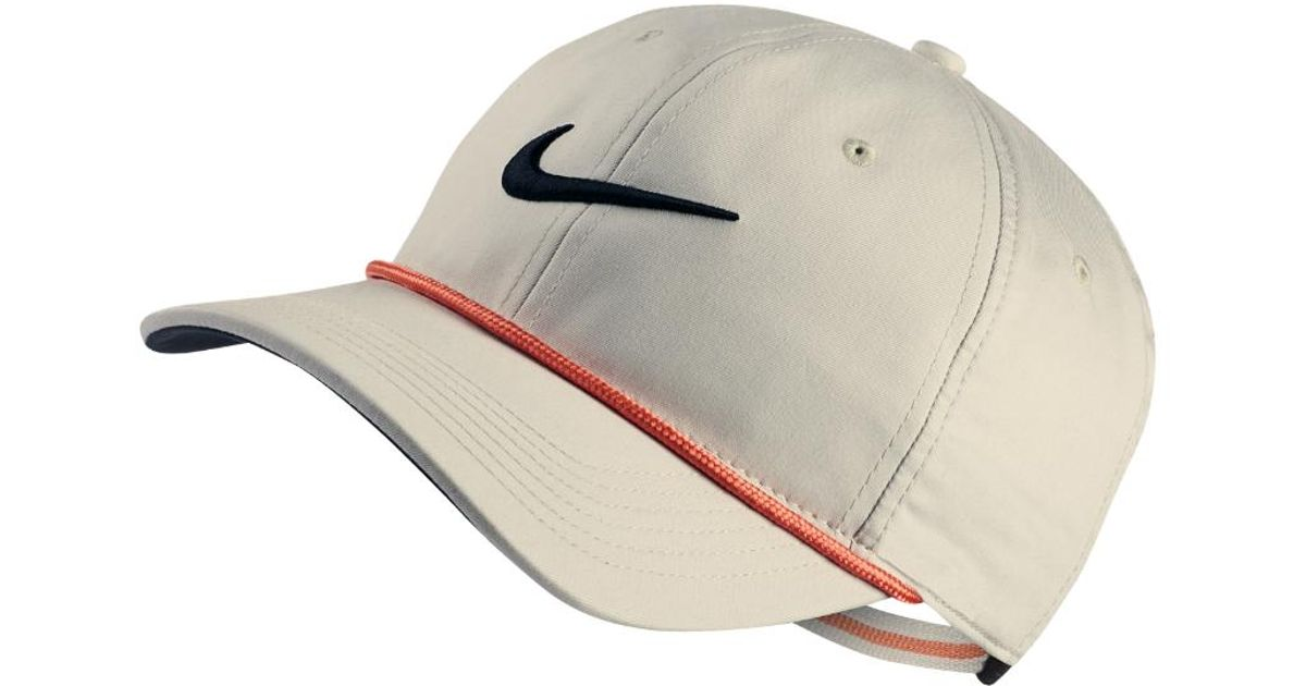 b29641728fd ... best price lyst nike aerobill classic99 golf hat cream clearance sale  in natural for men 1b174