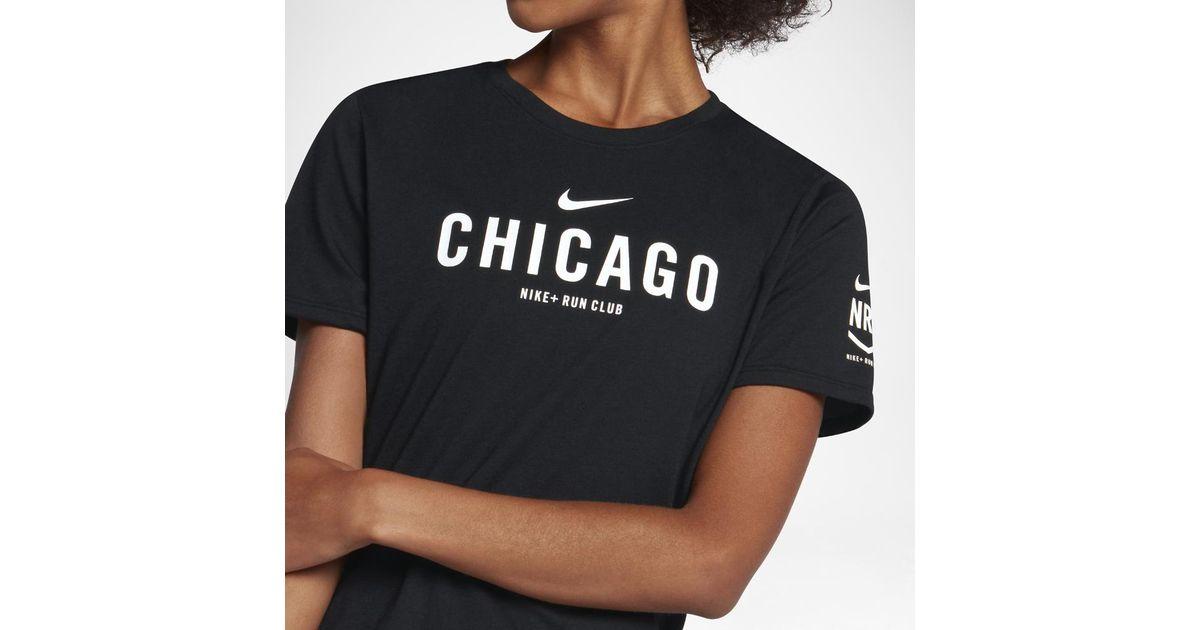 nike running club t shirt