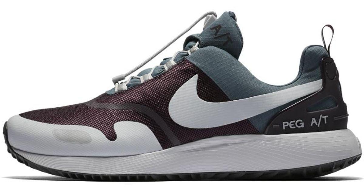 ec8d093d3869 Lyst - Nike Air Pegasus Winter At Men s Shoe in Blue for Men