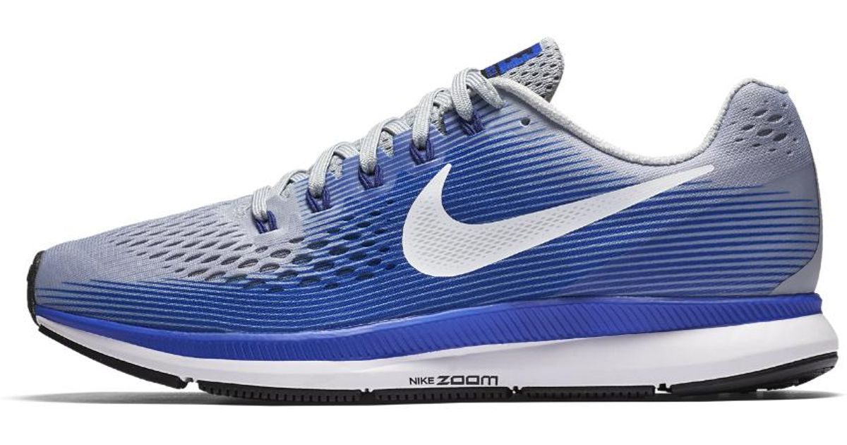 Lyst - Nike Air Zoom Pegasus 34 Flyease Men's Running Shoe in Blue for Men  - Save 4%