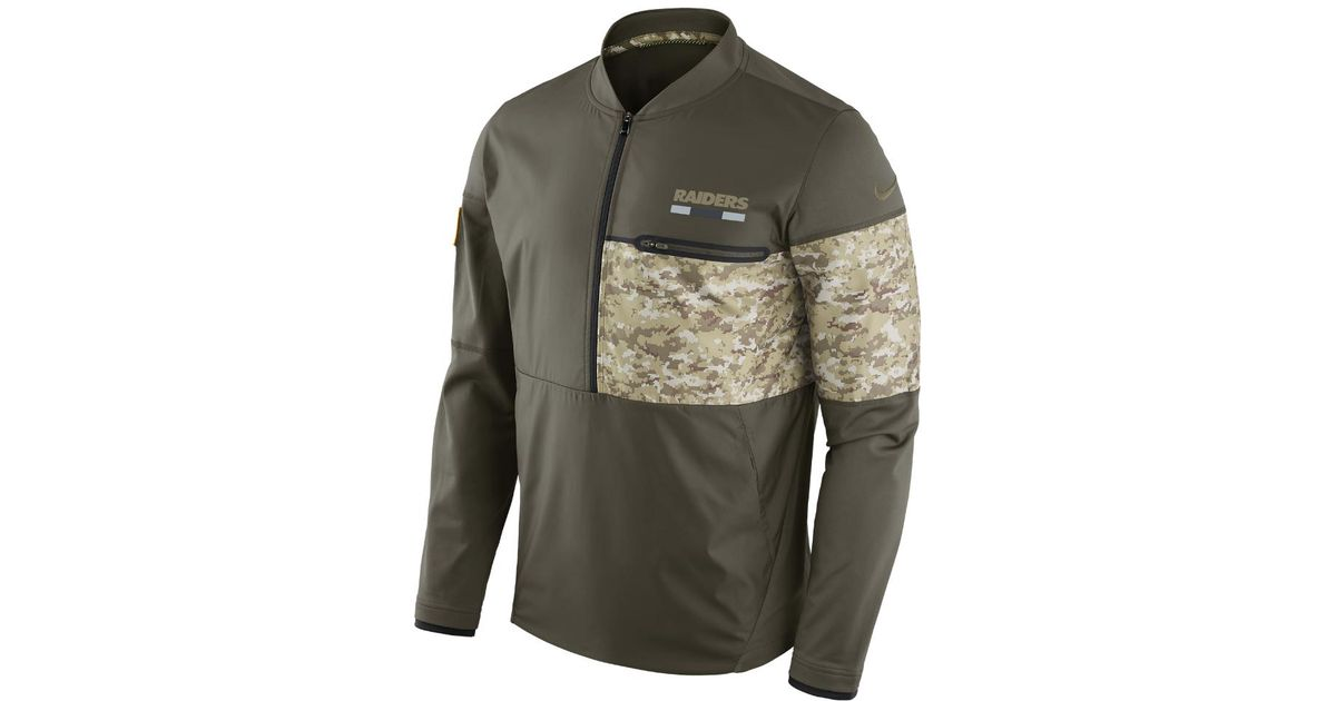 buy popular e0c61 9c155 Nike - Multicolor Sts Hybrid (nfl Rams) Men's Jacket for Men - Lyst