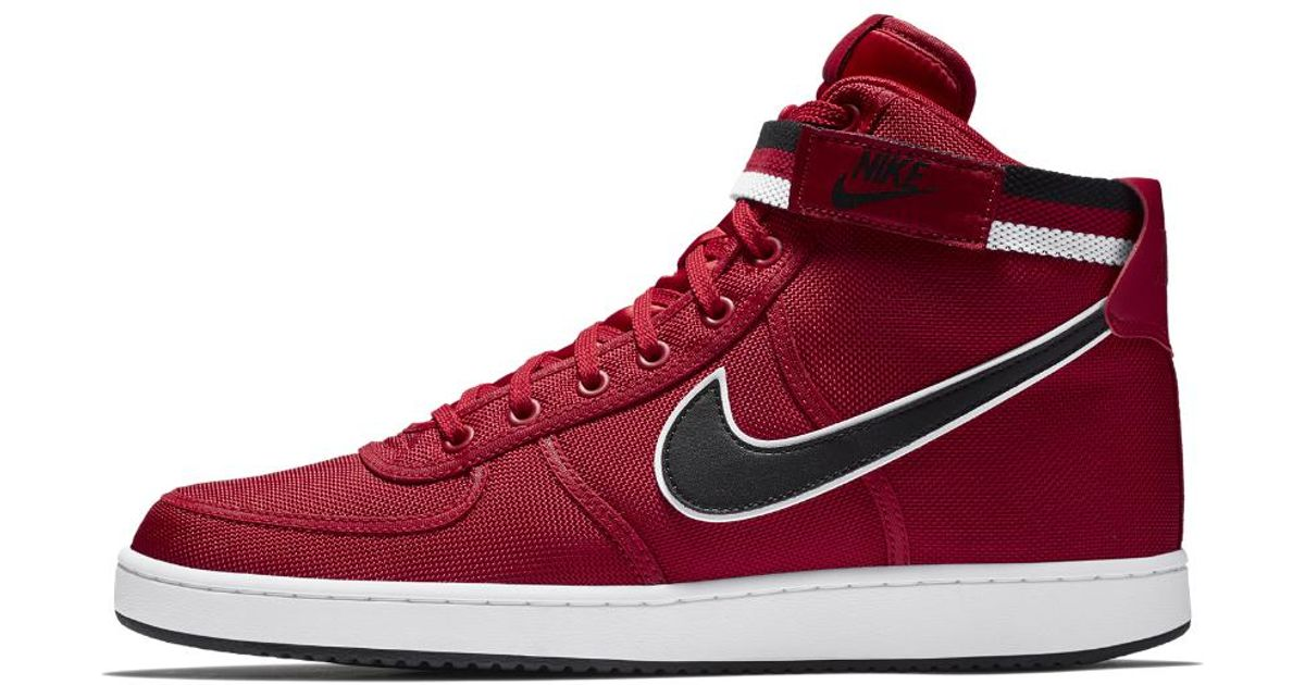 7d59e2dc8487f Lyst - Nike Vandal High Supreme Men s Shoe in Red for Men