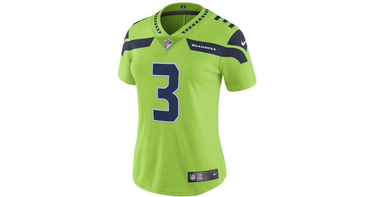 low priced 0dc00 7c677 norway russell wilson color rush jersey 9dafd 8733a