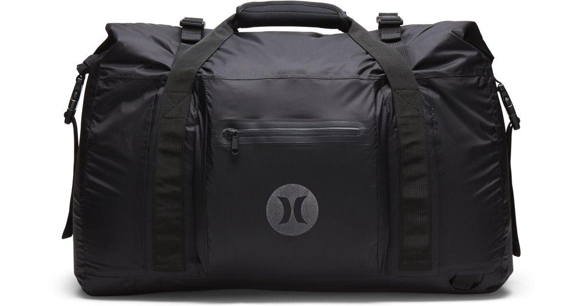 Nike Hurley Wet And Dry Duffel Bag in Black - Lyst 4510ceaeca406