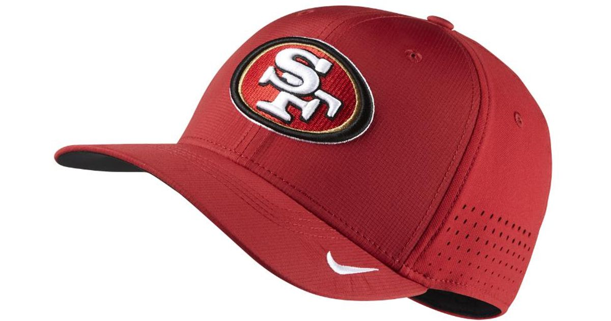 Lyst - Nike Swoosh Flex (nfl 49ers) Fitted Hat in Red for Men e98c557f835