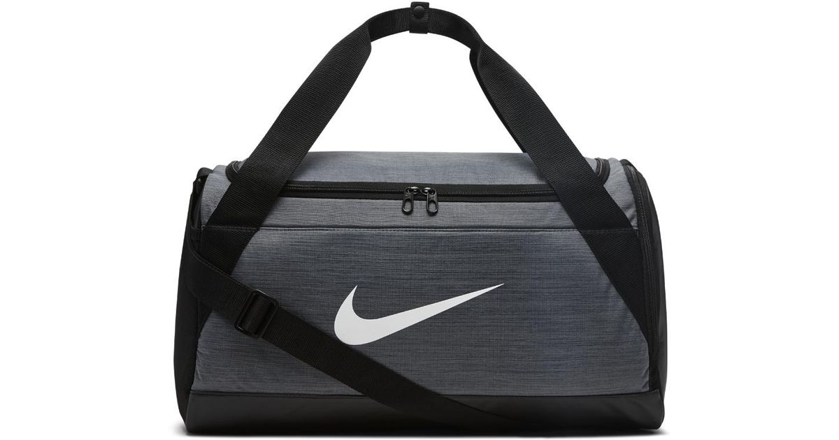 Lyst - Nike Brasilia (small) Training Duffel Bag (grey) - Clearance Sale in  Black for Men 3fb65501e2