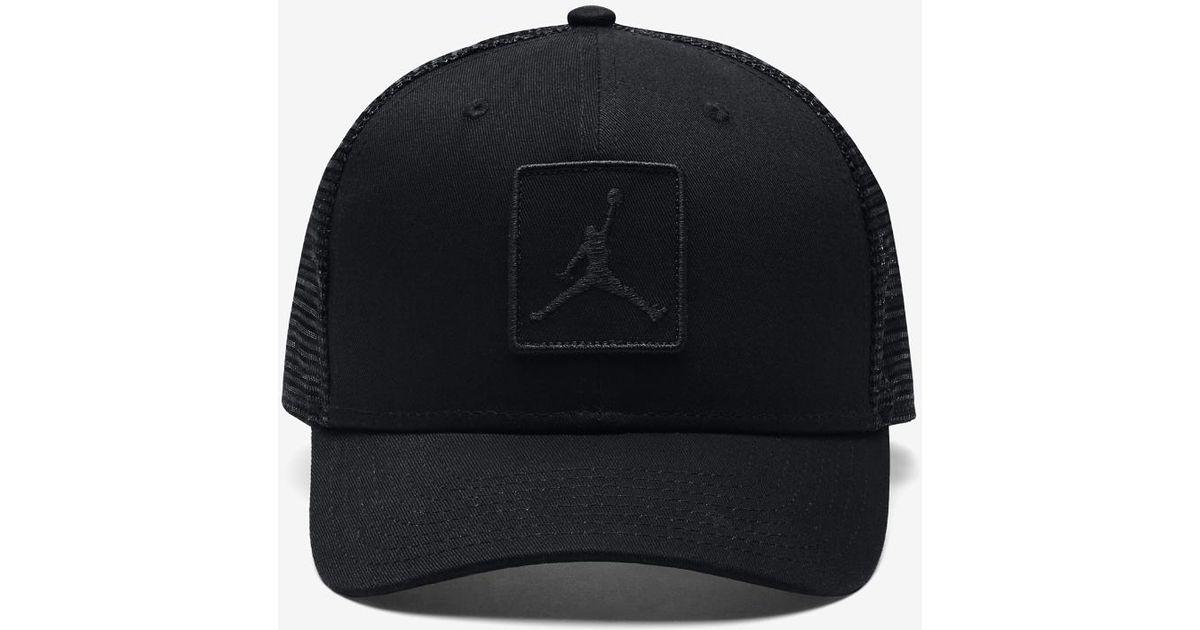 Lyst - Nike Jumpman Classic99 Trucker Adjustable Hat f076c16bf19
