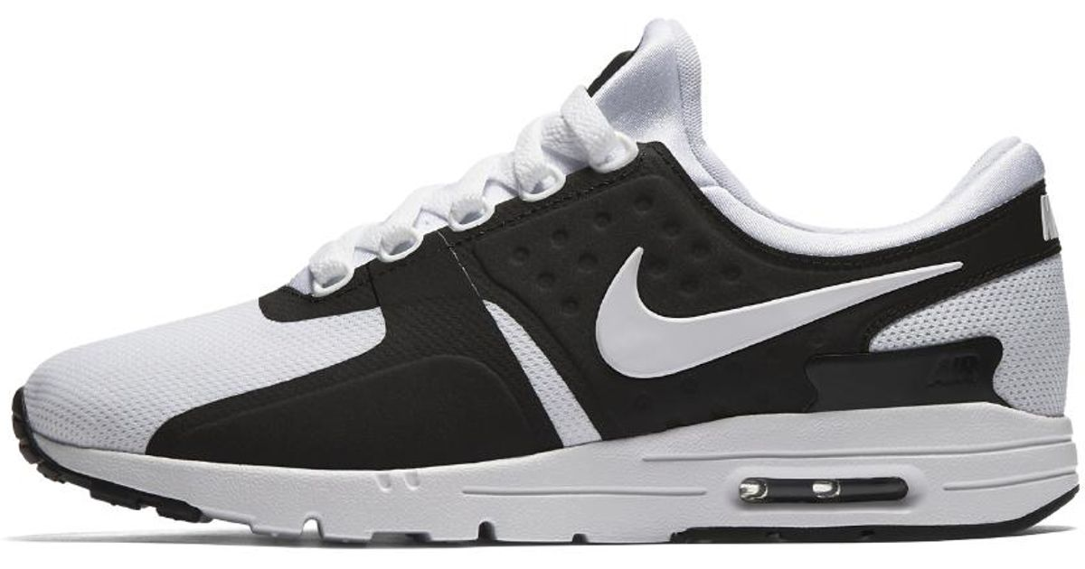 the latest 26984 6a151 Nike - Black Air Max Zero Women's Shoe - Lyst