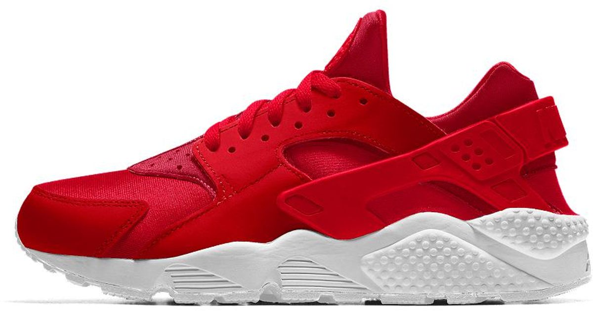 511455f3e041 Lyst - Nike Air Huarache Essential Id Women s Shoe in Red