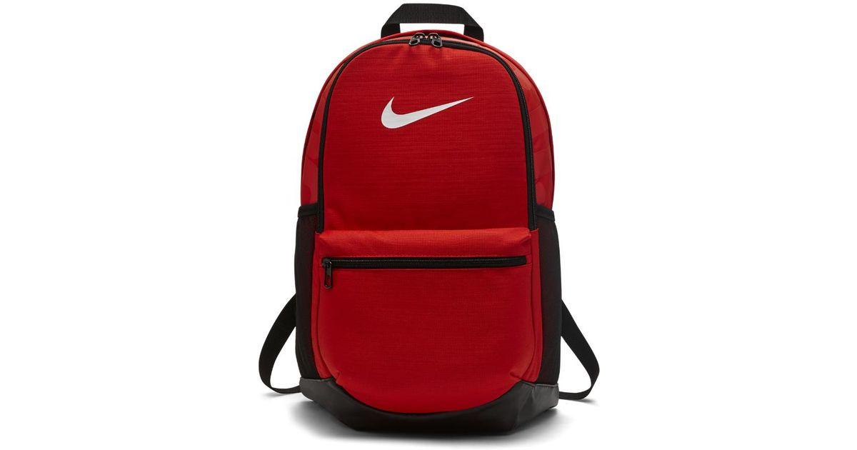 668eb9e83ca ... Lyst - Nike Brasilia (medium) Training Backpack (red) in Red new  arrival ...