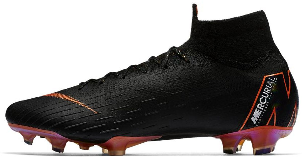 the best attitude 94948 deb5f Lyst - Nike Mercurial Superfly 360 Elite Firm-ground Soccer Cleats in Black  for Men