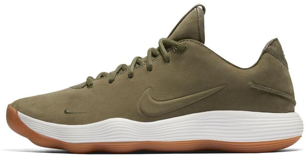 dd92c537f918 Lyst - Nike React Hyperdunk 2017 Low Lmtd Basketball Shoe in Brown for Men