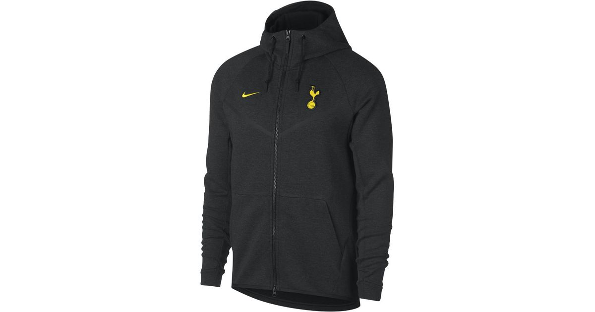 c80087db07859b Lyst - Nike Tottenham Hotspur Fc Tech Fleece Windrunner Men s Jacket in  Black for Men