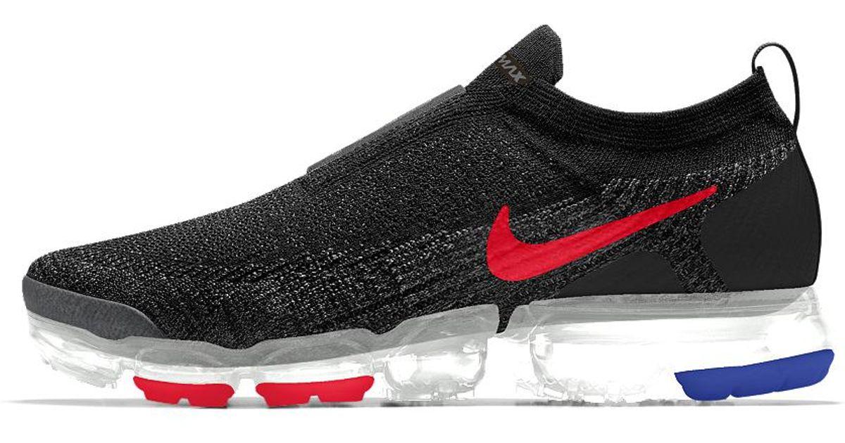 e69568ee02798 nike vapormax flyknit moc 2 id Lyst - Nike Air Vapormax Flyknit Moc 2 Id  Men s Running Shoe for Men