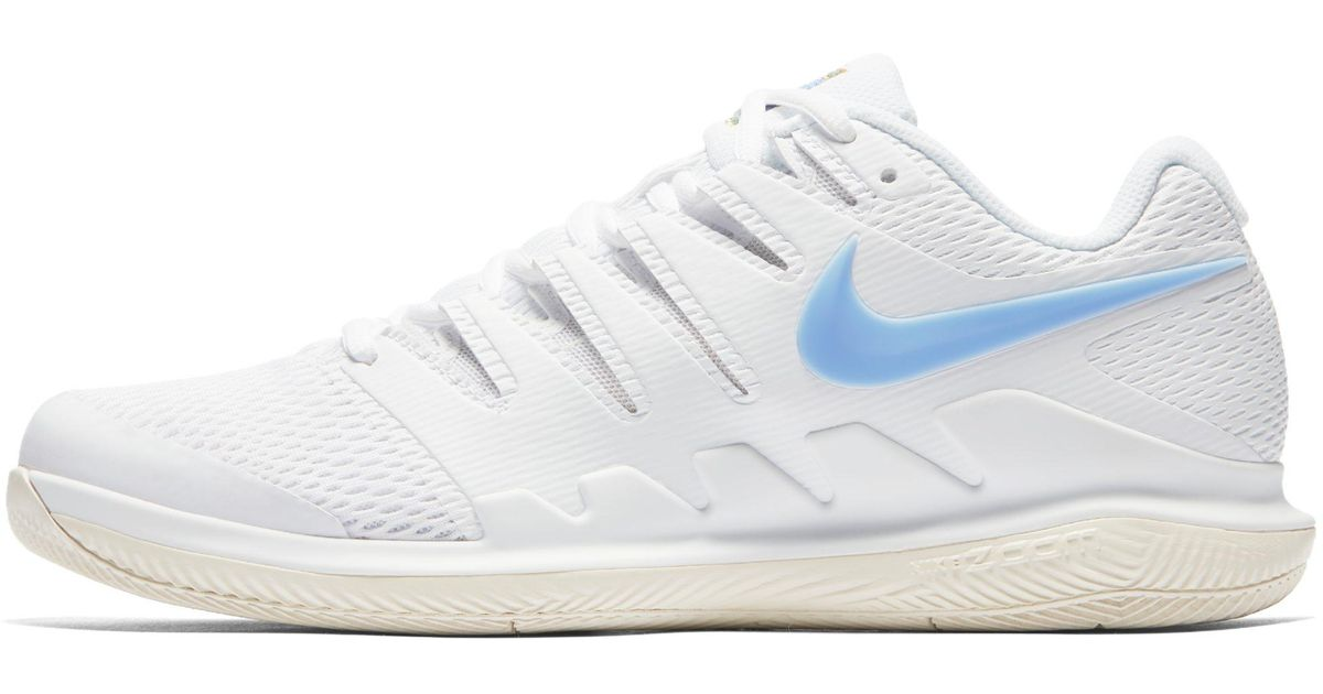 5314bae405bc Nike Court Air Zoom Vapor X Hard Court Tennis Shoe in White for Men - Lyst