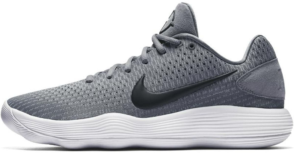 e6c2789d8d8a Lyst - Nike React Hyperdunk 2017 Low Men s Basketball Shoe in Gray for Men
