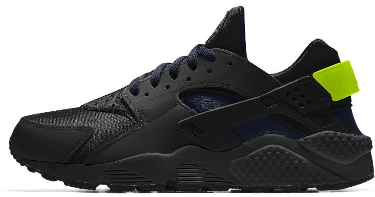 meet 2e79c 5abb3 Lyst - Nike Air Huarache Essential Id Men s Shoe in Black for Men