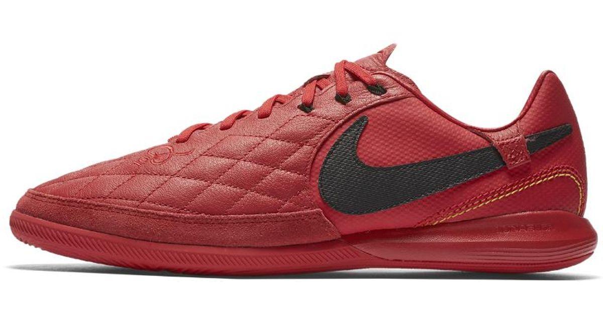 53f5323c082 ... france lyst nike tiempox lunar legend vii pro 10r indoor court soccer  shoe in red for